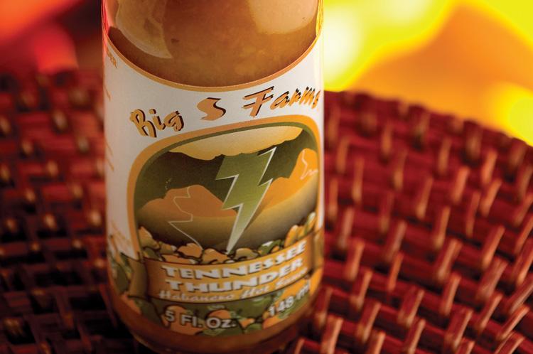 Big S Farms Tennessee Habanero Sauce