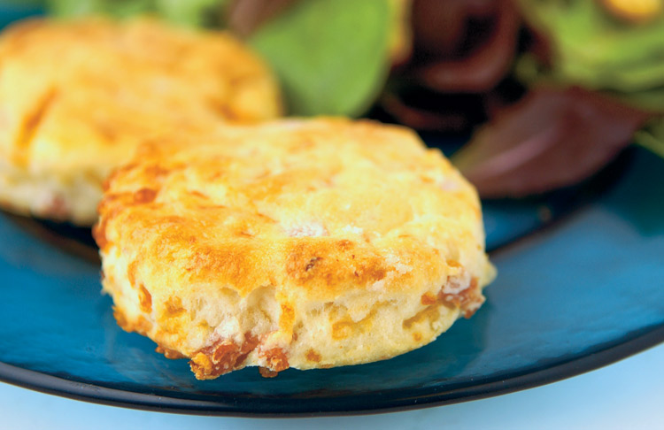 ... Country Ham and Cheese Biscuits , another savory way to start your day
