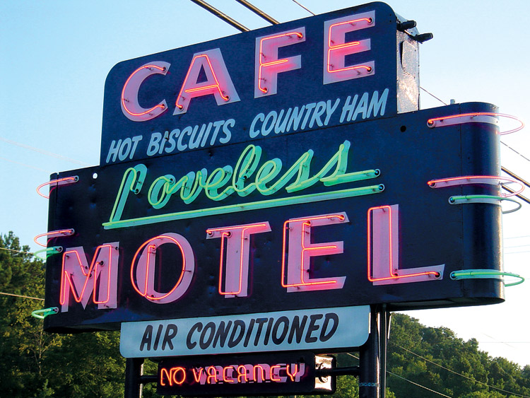 Loveless Cafe, Nashville, TN, restaurant
