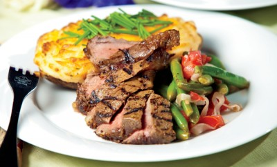 Marinated and Grilled Steak1