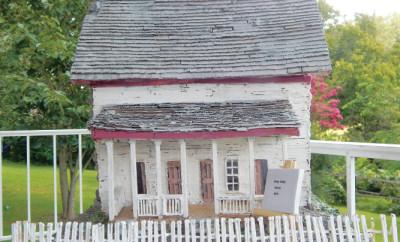 Cades Cove Matchstick House