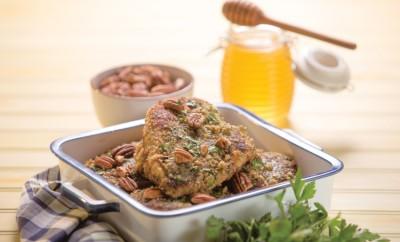 Honey Pecan Chicken Piccata