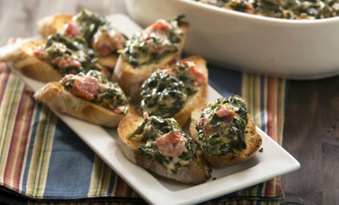 Easy Baked Spinach Dip
