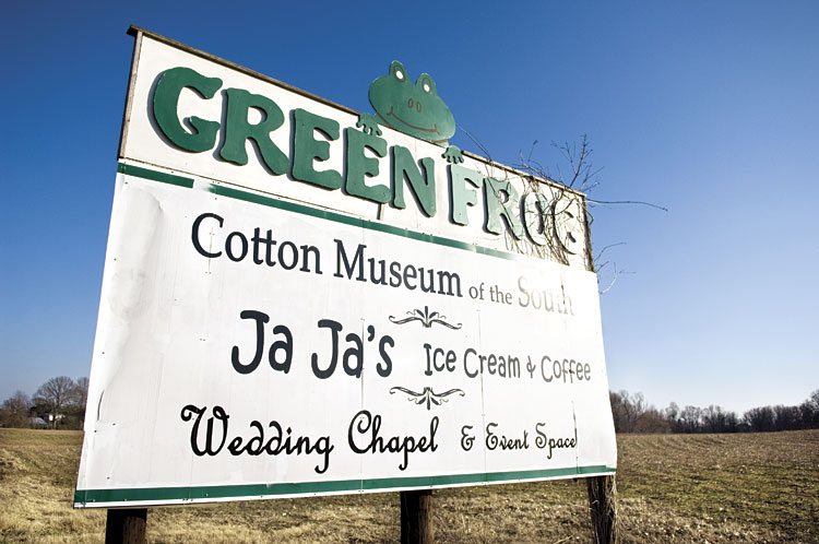Ja Ja's Ice Cream at Green Frog Village, West Tennessee