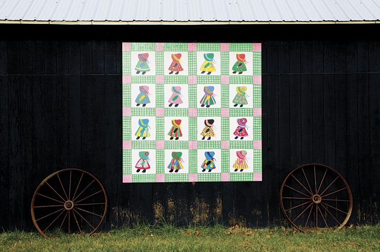 Quilt Block Barn in Tennessee