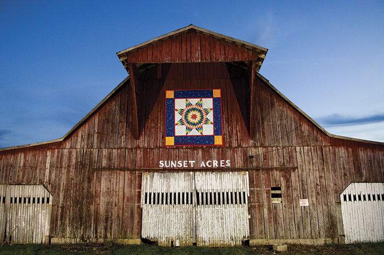 Discover Backroad Treasures Along Tennessee Quilt Trails : quilt barn trail - Adamdwight.com