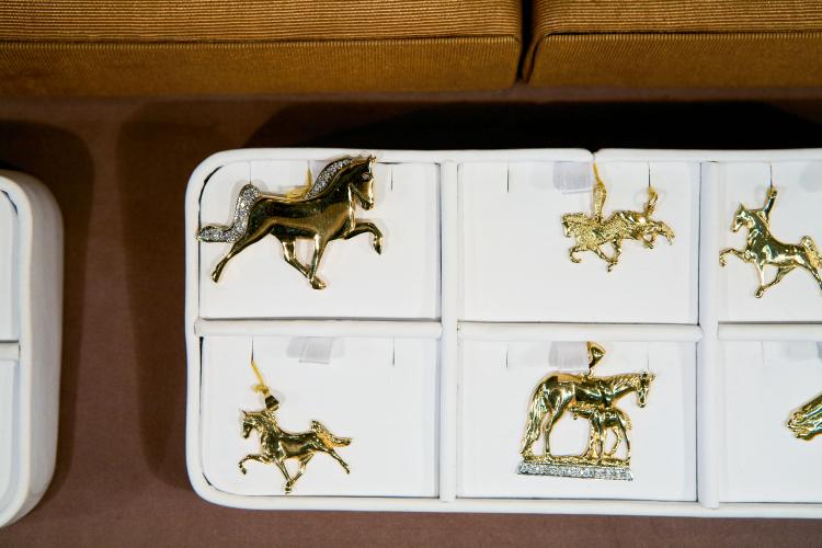 Walking Horse jewelry at Heritage Jewelers