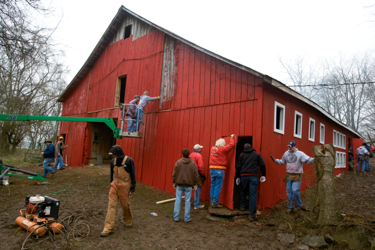 Old Hickory Barn Restoration