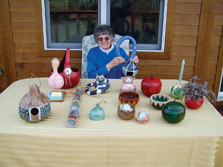 Maxine Osburn, gourds