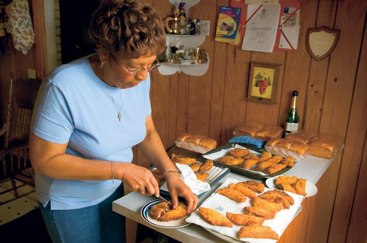 Frankye Ward, fried pies