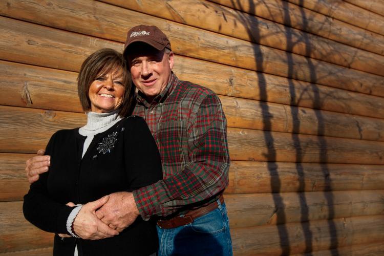 Janet and Grady Wilson, of Crossville, TN