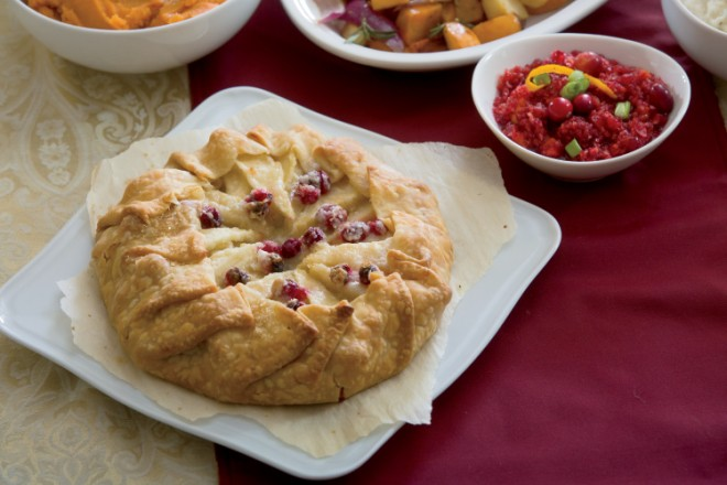 Pear and Cranberry Crostata