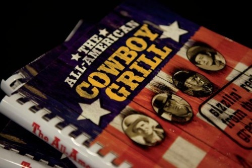 All-American Cowboy Grill Cookbook by Roger Rogers daughter