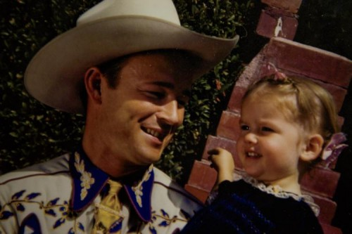 Roy Rodgers and daughter Cheryl Rodgers-Barnett