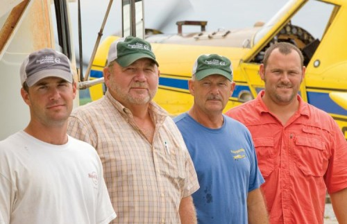 Luke, Jerry, George and Jeremiah Hollingsworth