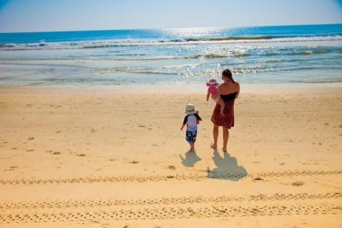 Summer memories on the beach