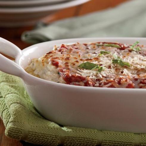 Baked Zucchini Mostaccioli