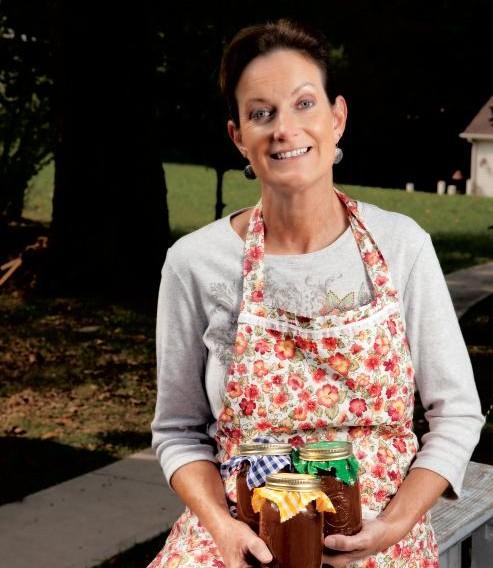 Yolanda Heuser of Cumberland County, TN makes apple butter