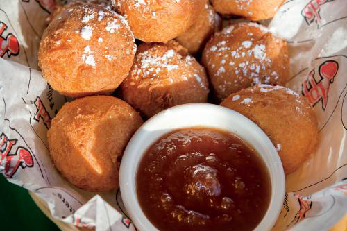 Apple Fritters from Applewood Restaurant in Sevierville, Tennessee