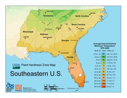 Usda Unveils New Plant Hardiness Zone Map Tennessee Home