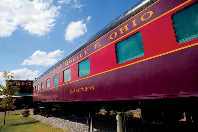 Casey Jones Village Railroad Museum in Jackson, TN