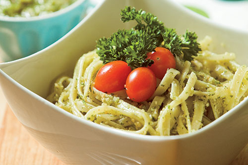 Peanut Parsley Pesto