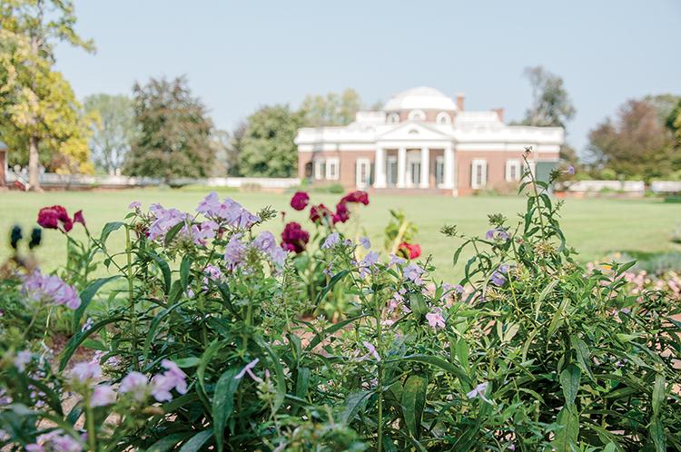 Thomas Jefferson Gardening