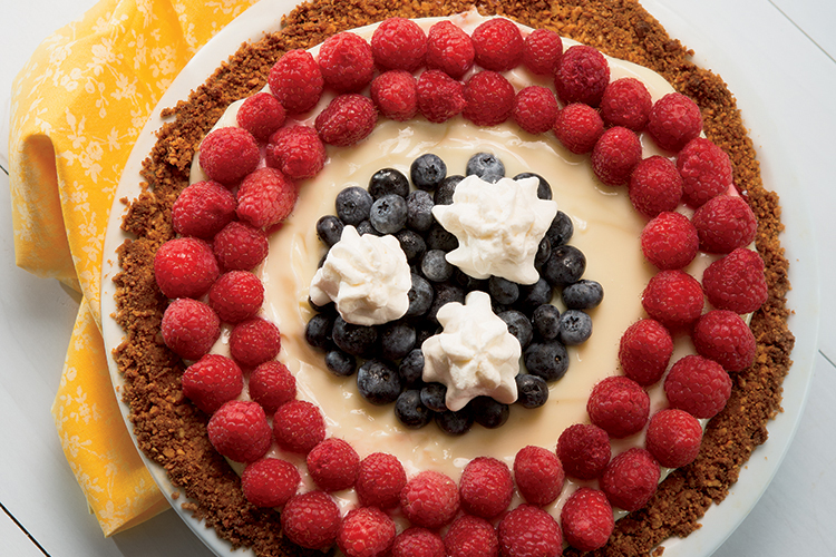 Tennessee Lemon Berry Cream Pie
