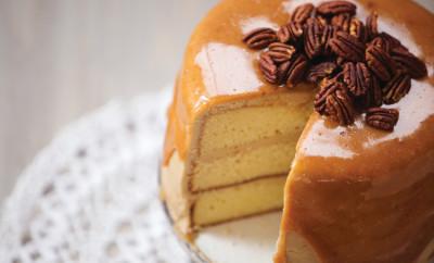 Sour Cream Layer Cake