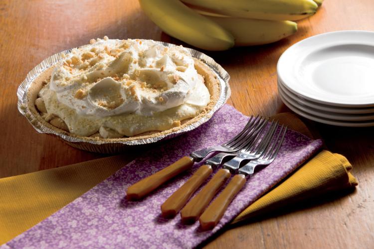 Double Banana Pudding Pie