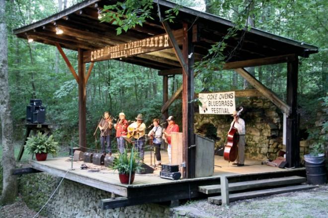 Dunlap Coke Ovens Bluegrass Festival