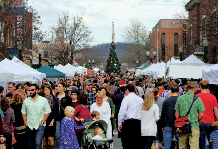 Dickens of a Christmas in downtown Franklin