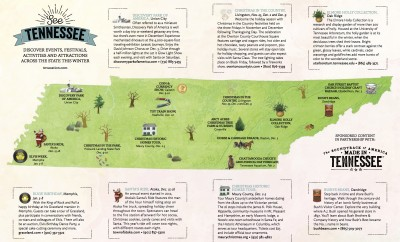Spring Tourism Map