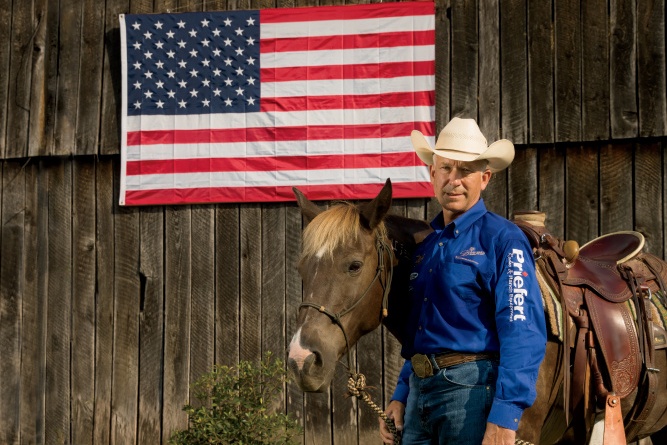 How Mike Branch Is Taming Wild Mustangs