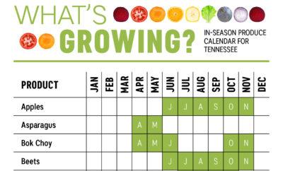 TN produce calendar