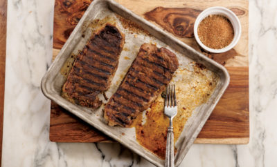 Grilled Cajun Beef Steaks