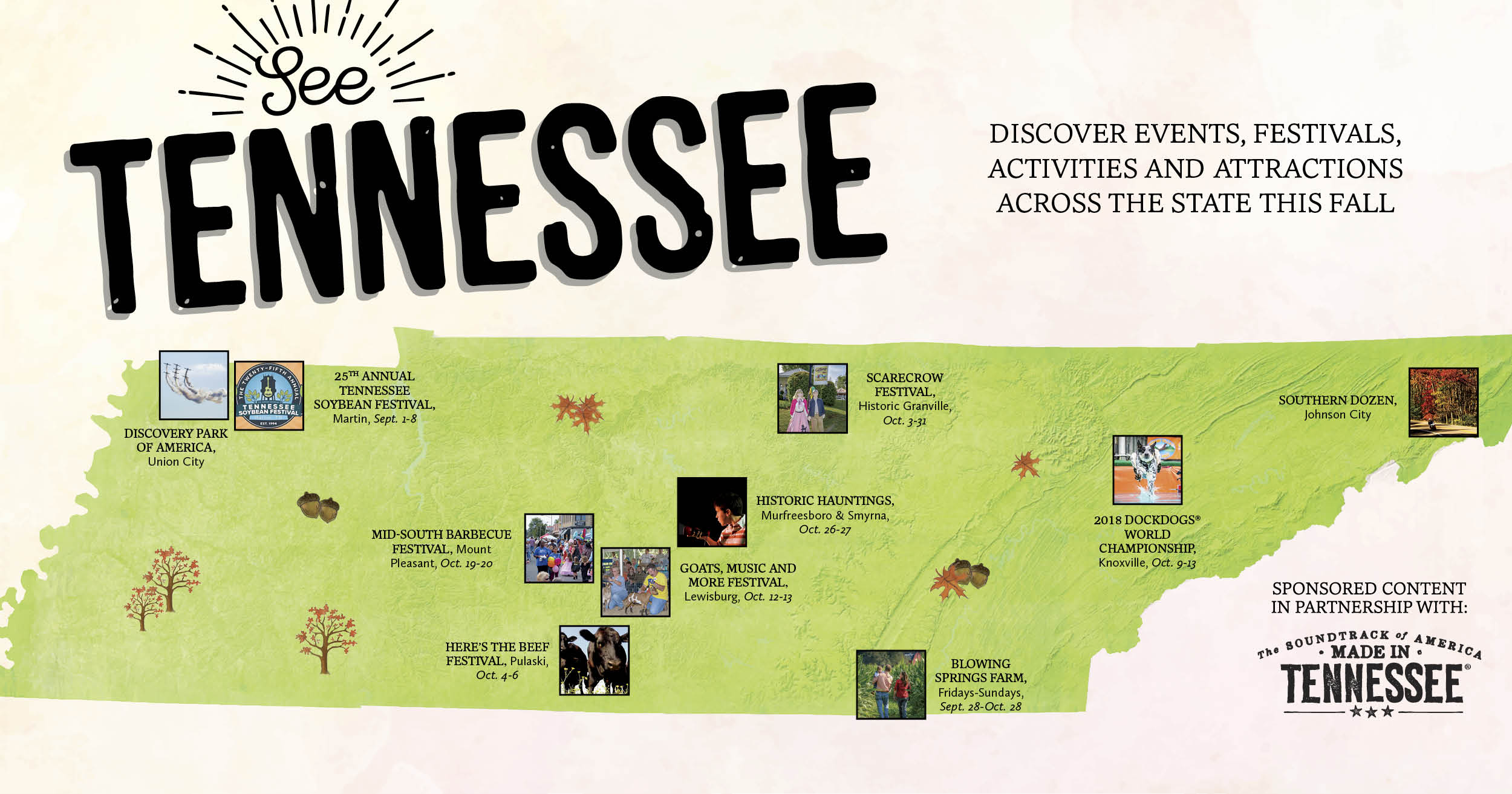 10 Places to Visit This Fall in Tennessee [MAP]