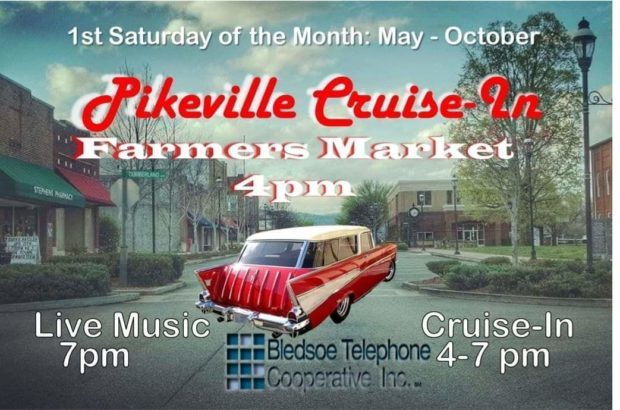 Pikeville Cruise In - TN Events - Tennessee Home and Farm
