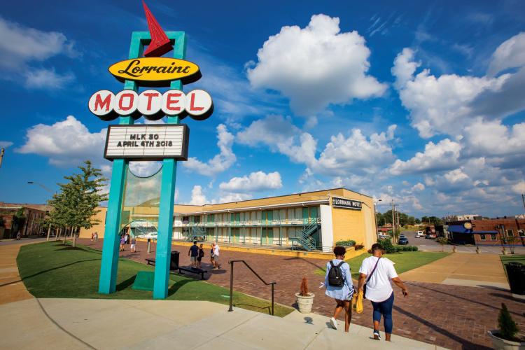 Tennessee Civil Rights Trail; Lorraine Motel