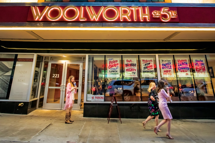 Tennessee Civil Rights Trail; Woolworth on 5th