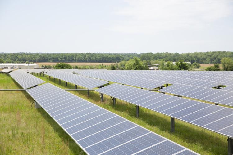 Agricenter International; solar farm