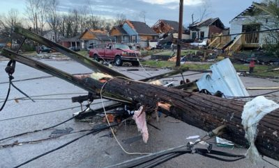 Nashville tornado damage