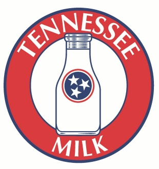 Tennessee dairies; TN Milk Logo
