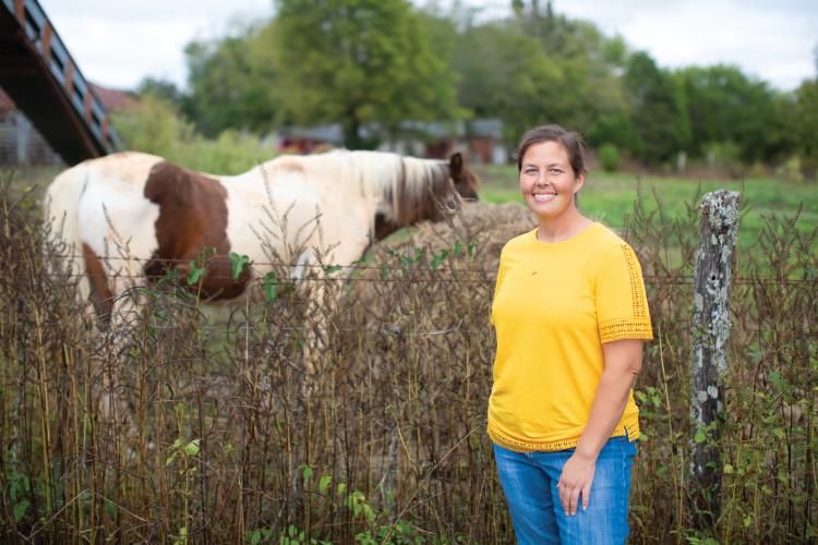 farmer Kim Ballard