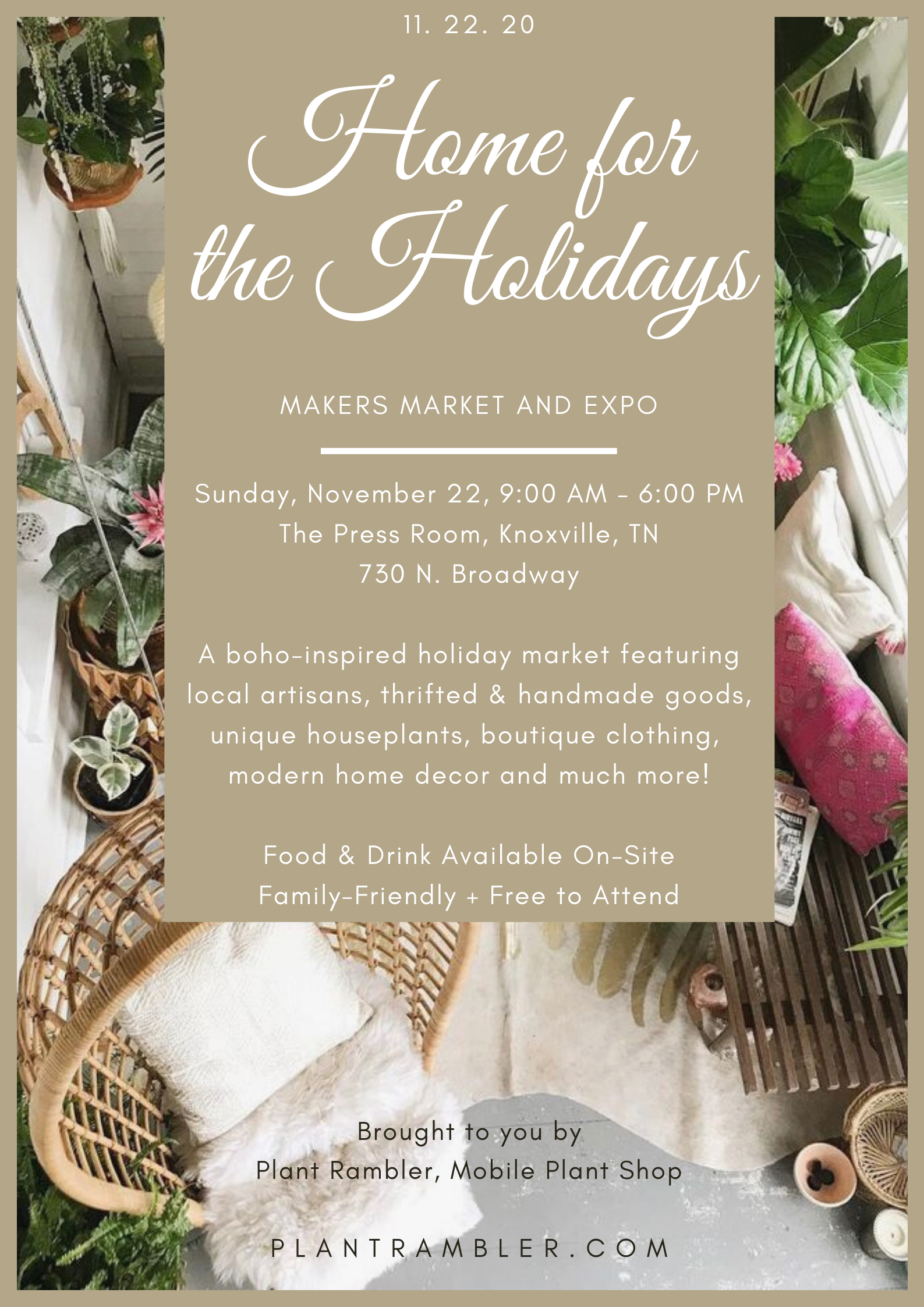 Home For The Holidays Makers Market Expo Tn Events Tennessee Home And Farm