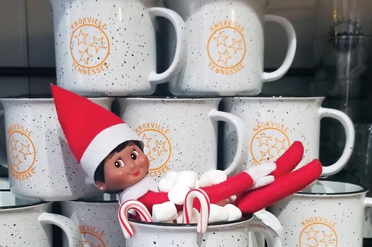 Elf on the Shelf Scavenger Hunt; Tennessee Christmas events