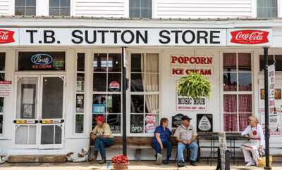 T.B. Sutton Store in Historic Granville