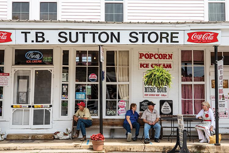 T.B. Sutton Store in Historic Granville