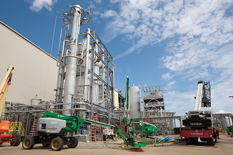 Interest in growing the feedstock for Genera's fiber mill in Vonore has increased significantly as the facility moved from the construction phase to commercial operations.